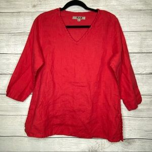 FLAX Red Top